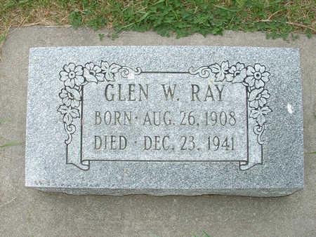 RAY, GLEN W - Shelby County, Iowa | GLEN W RAY