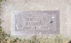RAYMOND, JOHNNY F. - Shelby County, Iowa | JOHNNY F. RAYMOND