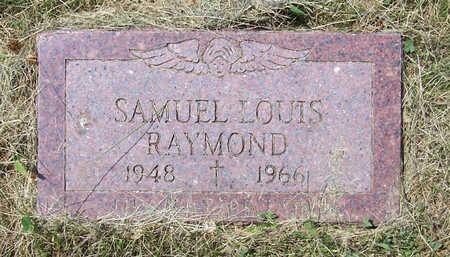 RAYMOND, SAMUEL LOUIS - Shelby County, Iowa | SAMUEL LOUIS RAYMOND