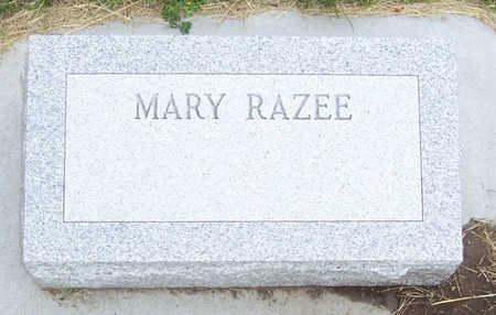 RAZEE, MARY - Shelby County, Iowa | MARY RAZEE