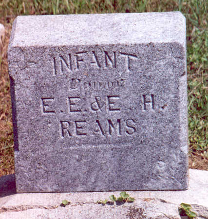 REAMS, INFANT DAUGHTER - Shelby County, Iowa | INFANT DAUGHTER REAMS