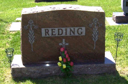 REDING, AUGUST & FRANCES (LOT) - Shelby County, Iowa | AUGUST & FRANCES (LOT) REDING