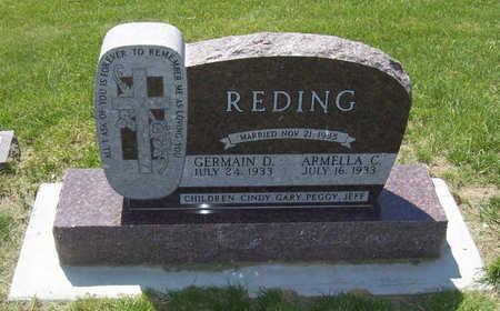 REDING, GERMAIN D. - Shelby County, Iowa | GERMAIN D. REDING