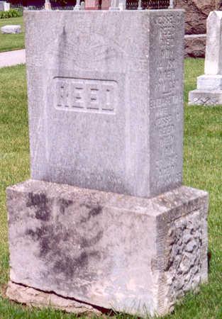 REED (FAMILY STONE), JESSIE & ELIZABETH - Shelby County, Iowa | JESSIE & ELIZABETH REED (FAMILY STONE)