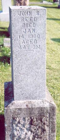 REED, JOHN B. - Shelby County, Iowa   JOHN B. REED