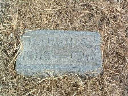 REED, SARAH A. - Shelby County, Iowa | SARAH A. REED