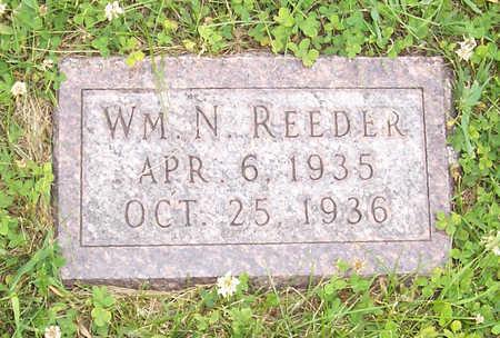 REEDER, WM. N - Shelby County, Iowa   WM. N REEDER