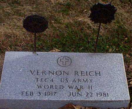 REICH, VERNON - Shelby County, Iowa | VERNON REICH