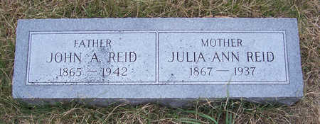 REID, JULIA ANN (MOTHER) - Shelby County, Iowa | JULIA ANN (MOTHER) REID