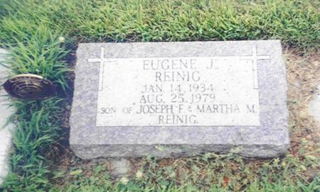 REINIG, EUGENE J. - Shelby County, Iowa | EUGENE J. REINIG