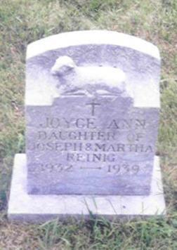 REINIG, JOYCE ANN - Shelby County, Iowa | JOYCE ANN REINIG