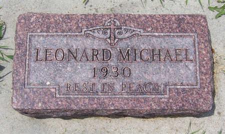 REISZ, LEONARD MICHAEL - Shelby County, Iowa   LEONARD MICHAEL REISZ