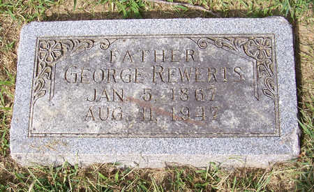 REWERTS, GEORGE (FATHER) - Shelby County, Iowa   GEORGE (FATHER) REWERTS