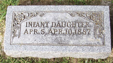 REWERTS, INFANT DAUGHTER - Shelby County, Iowa   INFANT DAUGHTER REWERTS