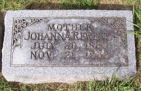 REWERTS, JOHANNA (MOTHER) - Shelby County, Iowa | JOHANNA (MOTHER) REWERTS