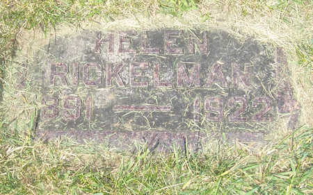 RICKELMAN, HELEN - Shelby County, Iowa | HELEN RICKELMAN