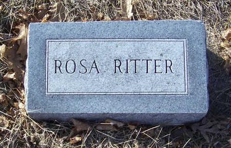 RITTER, ROSA - Shelby County, Iowa | ROSA RITTER