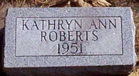 ROBERTS, KATHRYN - Shelby County, Iowa | KATHRYN ROBERTS