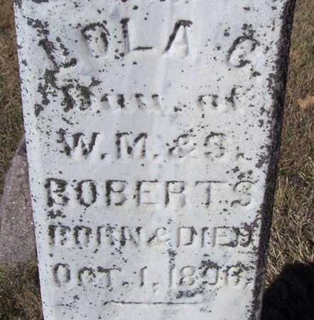 ROBERTS, LOLA C. - Shelby County, Iowa | LOLA C. ROBERTS