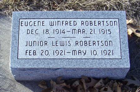 ROBERTSON, EUGENE WINFRED - Shelby County, Iowa | EUGENE WINFRED ROBERTSON