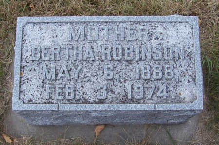 ROBINSON, BERTHA (MOTHER) - Shelby County, Iowa | BERTHA (MOTHER) ROBINSON