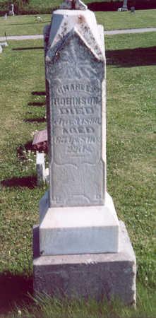 ROBINSON, CHARLES - Shelby County, Iowa | CHARLES ROBINSON