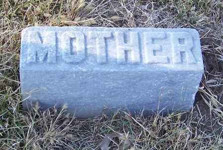 ROBINSON, EMMA F. (MOTHER) - Shelby County, Iowa | EMMA F. (MOTHER) ROBINSON
