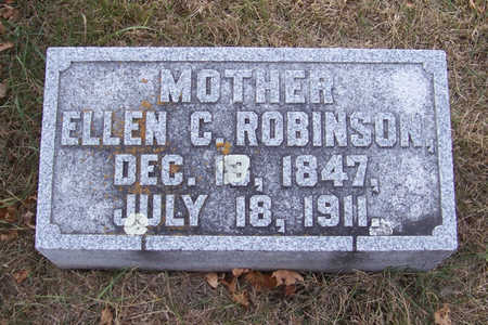 ROBINSON, ELLEN C. (MOTHER) - Shelby County, Iowa | ELLEN C. (MOTHER) ROBINSON
