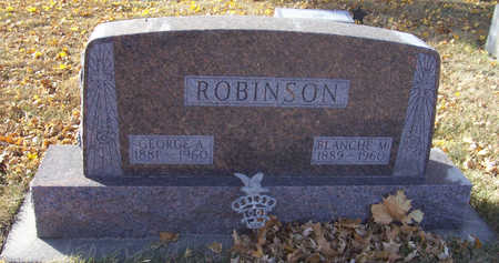 ROBINSON, GEORGE A. - Shelby County, Iowa | GEORGE A. ROBINSON