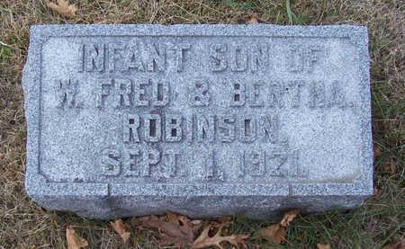 ROBINSON, INFANT SON - Shelby County, Iowa   INFANT SON ROBINSON