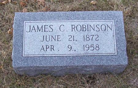 ROBINSON, JAMES C. - Shelby County, Iowa   JAMES C. ROBINSON