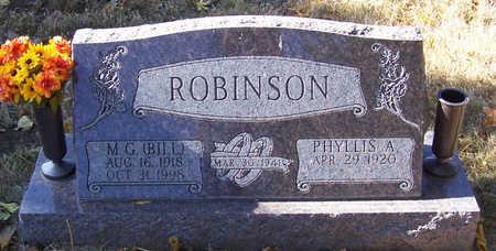 ROBINSON, PHYLLIS A. - Shelby County, Iowa | PHYLLIS A. ROBINSON