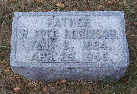ROBINSON, W. FRED (FATHER) - Shelby County, Iowa | W. FRED (FATHER) ROBINSON