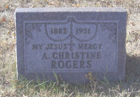 ROGERS, A. CHRISTINE - Shelby County, Iowa | A. CHRISTINE ROGERS
