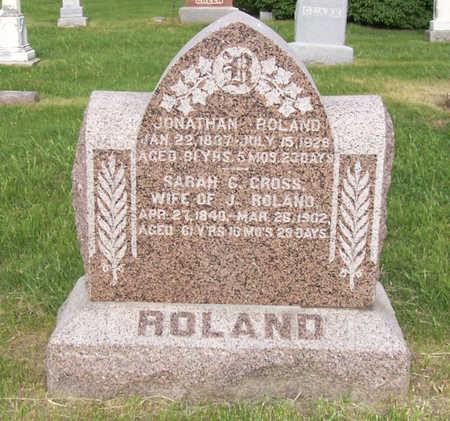 ROLAND, JONATHAN - Shelby County, Iowa   JONATHAN ROLAND