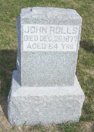 ROLLS, JOHN - Shelby County, Iowa | JOHN ROLLS