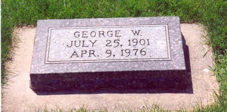 ROSENOW, GEORGE W. - Shelby County, Iowa | GEORGE W. ROSENOW