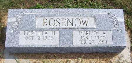 ROSENOW, PERLEY A. - Shelby County, Iowa | PERLEY A. ROSENOW