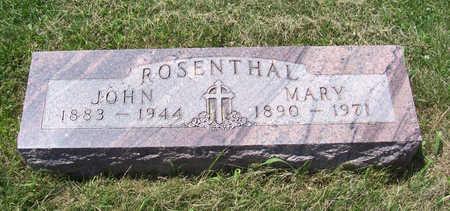 ROSENTHAL, JOHN - Shelby County, Iowa | JOHN ROSENTHAL