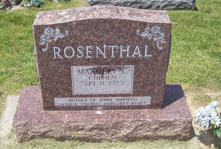 ROSENTHAL, MARGERY C. - Shelby County, Iowa | MARGERY C. ROSENTHAL
