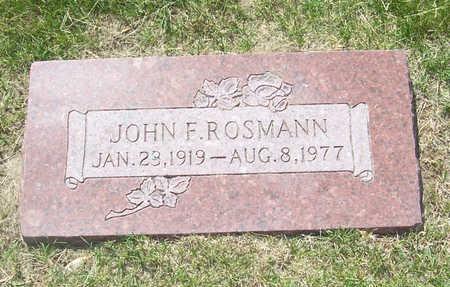ROSMANN, JOHN F. - Shelby County, Iowa | JOHN F. ROSMANN