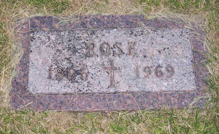 ROSMANN, ROSE - Shelby County, Iowa   ROSE ROSMANN