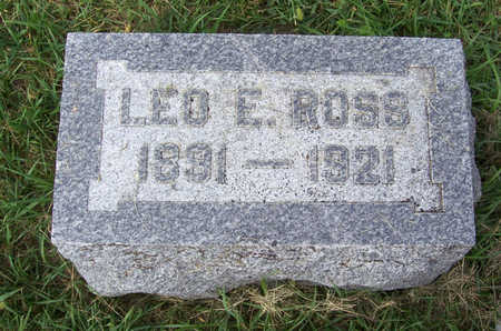 ROSS, LEO E. - Shelby County, Iowa | LEO E. ROSS