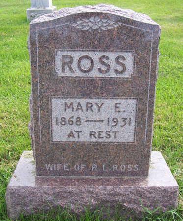ROSS, MARY E. - Shelby County, Iowa | MARY E. ROSS