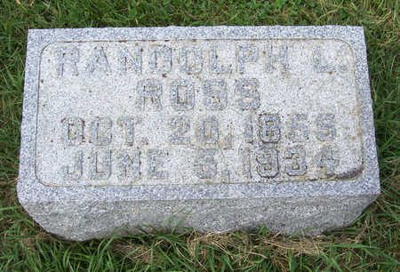 ROSS, RANDOLPH L. - Shelby County, Iowa   RANDOLPH L. ROSS