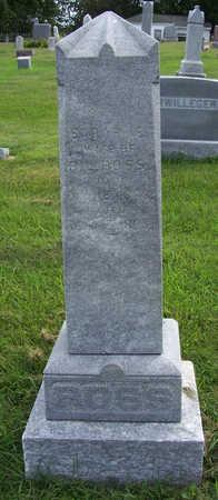 ROSS, SARAH E. - Shelby County, Iowa   SARAH E. ROSS