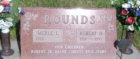 ROUNDS, MERLE L. - Shelby County, Iowa | MERLE L. ROUNDS