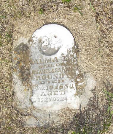 ROUNDY, ALMA E. - Shelby County, Iowa | ALMA E. ROUNDY