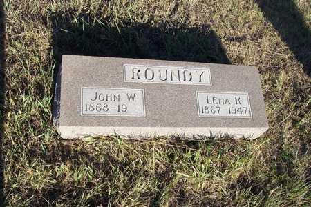 ROUNDY, RENA - Shelby County, Iowa   RENA ROUNDY
