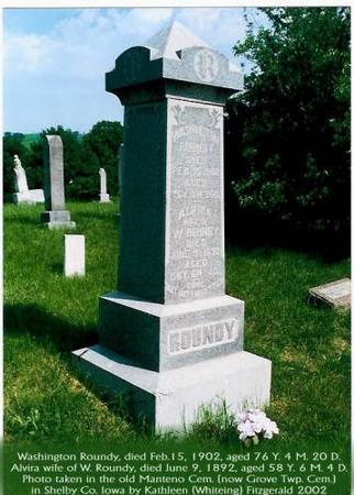 ROUNDY, WASHINGTON & ALVIRA (WILLIAMS) - Shelby County, Iowa | WASHINGTON & ALVIRA (WILLIAMS) ROUNDY